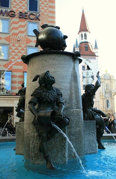 Fischbrunnen in München