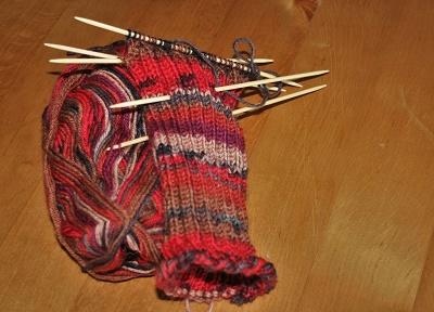 Socke (l)