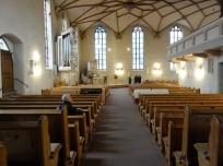 Das linke Kirchenschiff