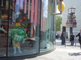 Auch hier: Ein M&M's World Shop