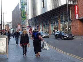 Shopping macht in Liverpool natürlich Spaß, wie in jeder Großstadt.