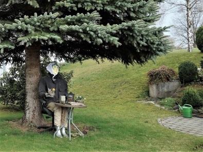 Mal eine andere Gartenskulptur!