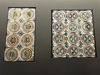 Beispiele orientalischer Fliesenkunst aus längst vergangener Zeit.