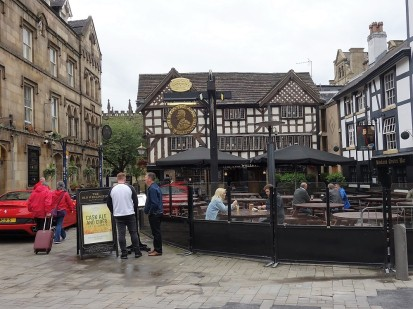 Das älteste Pub Manchesters gibt es seit dem 16. Jahrhundert.