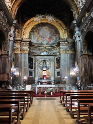 Der Grundstein für die Basilika San Silvestro in Capite wurde im 8. Jahrhundert von griechischen Mönchen gelegt.