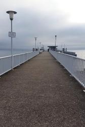 So idyllisch ist dieses Pier im Sommer nicht!