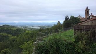 So fing der Tag an: Mit einem wundervollen Blick auf die Alpen!