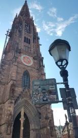Das Münster von außen.